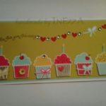 Geburtstagskarte Törtchen