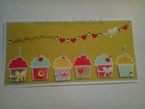 Geburtstagstörtchen Muffins