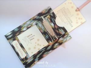 Ziehkarte zum Geburtstag mit dem DSP Süße Sorbets