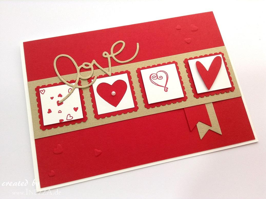 Match the Sketch Challenge No. 052 – Karte zum Valentinstag