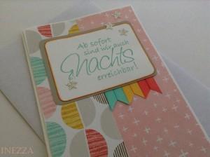 Match the Sketch No. 070 Babykarte Geburtsanzeige