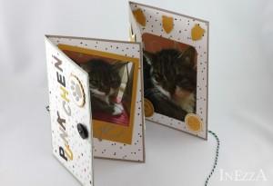 Leporello Foto Album Karte für Katze – mit Anleitung