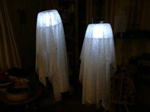 Anleitung für beleuchteten Halloween Geist