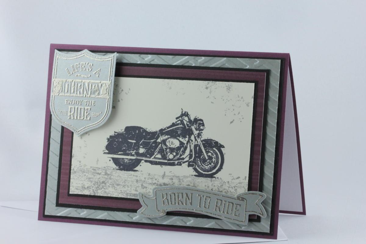 Motorradkarte One Wild Ride
