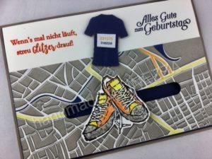Kullerkarte – Marathon – Echt Cool – Anleitung