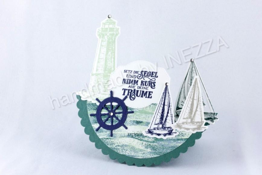 Maritime Schaukelkarte – Anleitung