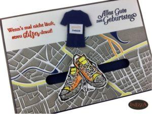 Kullerkarte – Marathon – Echt Cool – mit Anleitung