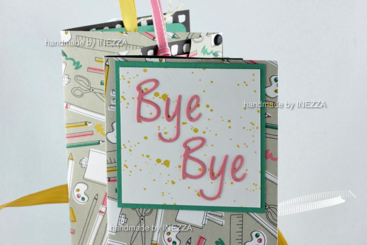 Abschiedskarte für eine kreative Kollegin