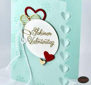 Read more about the article Valentinstag Karte schlicht und romantisch